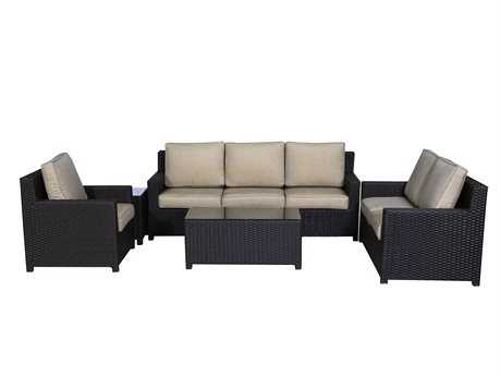 Teva Maui Viro Wicker Deep Seating Set