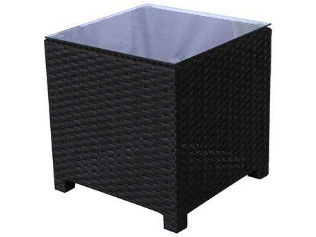 Teva Maui Viro 20W x 20H Square Wicker End Table