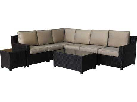 Teva Maui Viro Wicker Sectional Set
