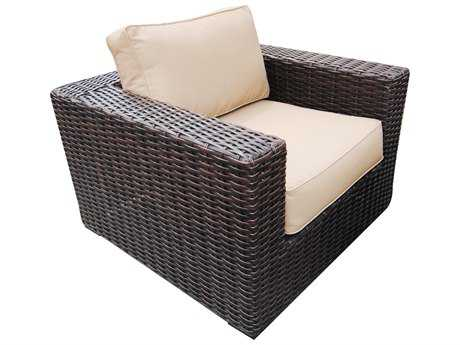 Teva Santa Monica Wicker Rattan Club Chair