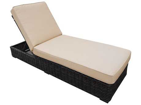 Teva Santa Monica Wicker Rattan Chaise Lounge