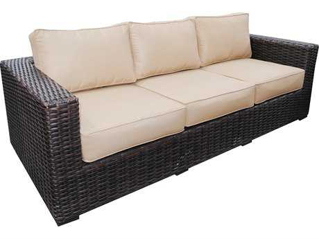 Teva Santa Monica Wicker Rattan Sofa
