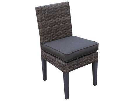 Teva Bali Wicker Armless Dining Chair