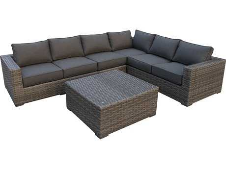 Teva Bali Wicker Sectional Set