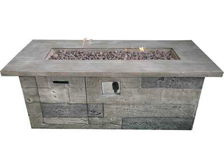 Teva Timber 60 x 23.6 Concrete Firepit TE200TFPRT
