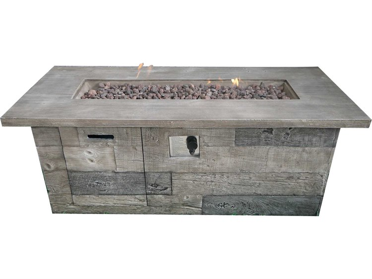 Teva Timber 60 x 23.6 Concrete Firepit