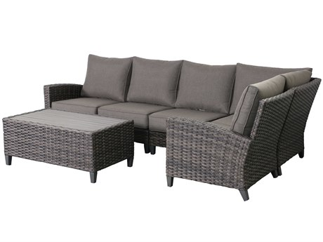 Teva Barbados 5 Piece Sectional Set