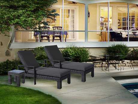 Teva Bora Wicker Conversation Lounge Set PatioLiving
