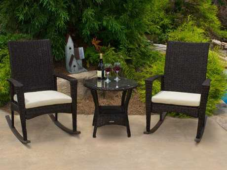 Tortuga Outdoor Bayview Wicker Cushion Lounge Set