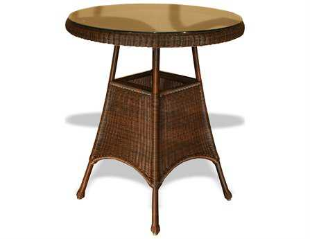 Tortuga Outdoor Sea Pines Wicker 36 Round Bar Table