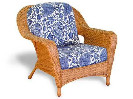 Tortuga Outdoor Sea Pines Wicker Cushion Club Chair TGLEXC1