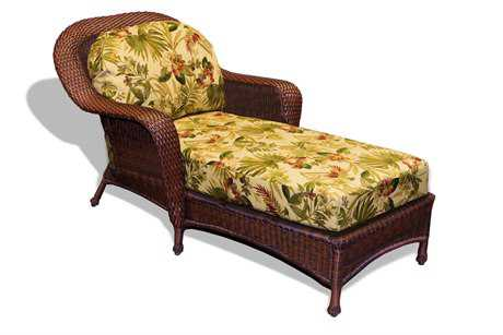 Tortuga Outdoor Lexington Wicker Cushion Chaise Lounge