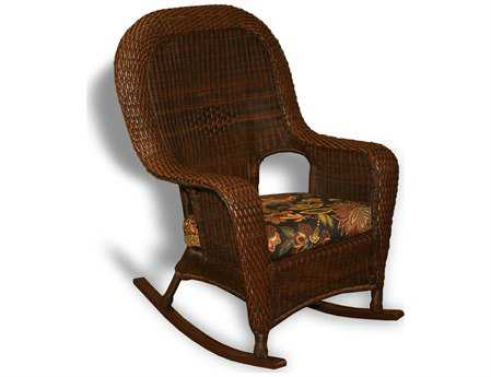 Tortuga Outdoor Sea Pines Wicker Cushion Rocker Lounge Chair