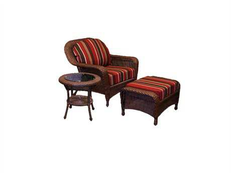 Tortuga Outdoor Sea Pines Wicker Cushion Lounge Set