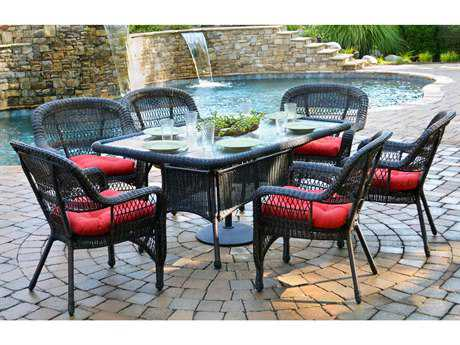 Tortuga Outdoor Portside 66 Dining Table