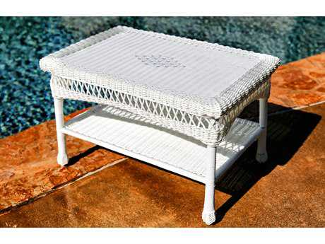Tortuga Outdoor Portside Wicker 28''W x 18''D Rectangular Coffee Table TGPSCOFF