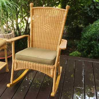 Tortuga Outdoor Portside Wicker Classic Cushion Rocker