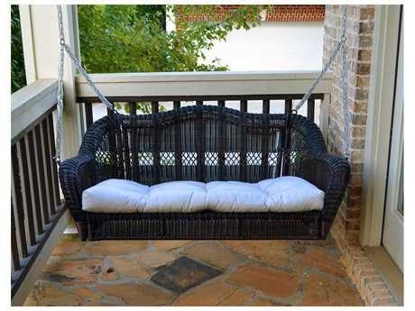 Tortuga Outdoor Jakarta Wicker Portside Porch Swing