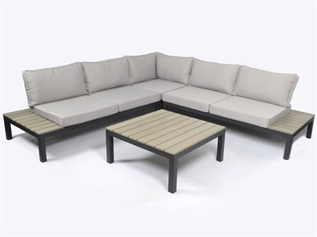 Tortuga Outdoor Sky Rise Aluminum Sectional