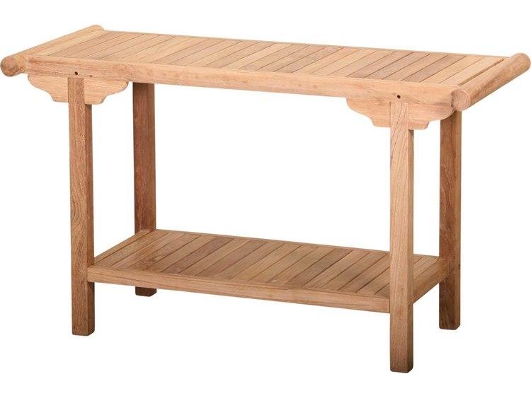 8bcd9501968852 Tortuga Outdoor Jakarta Teak 51 x 17.5 Rectangular Console Table | TK-CONT