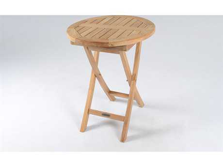 Tortuga Outdoor Jakarta Teak Folding Bistro Table