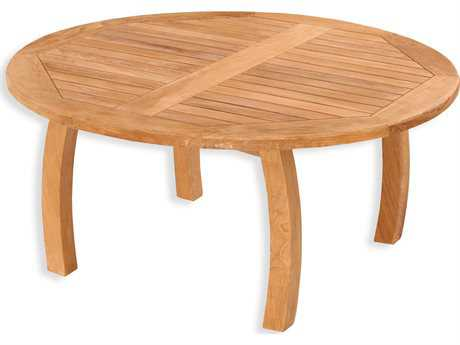 Tortuga Outdoor Jakarta Teak 40 Round Coffee Table