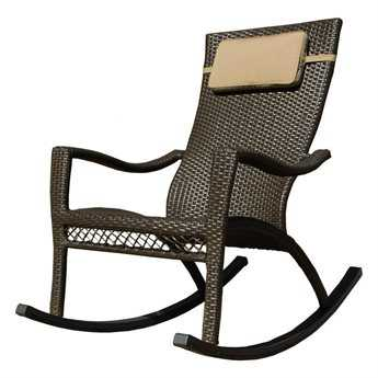 Tortuga Outdoor Tuscan Lorne Wicker Rocking Chair