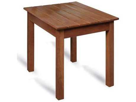 Tortuga Outdoor Traditional Wooden Side Table