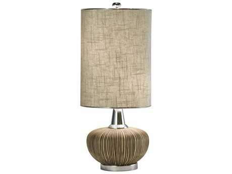 Thumprints Sahara Natural Two-Light Table Lamp