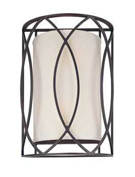 Troy Lighting Sausalito Deep Bronze Two-Light Wall Sconce