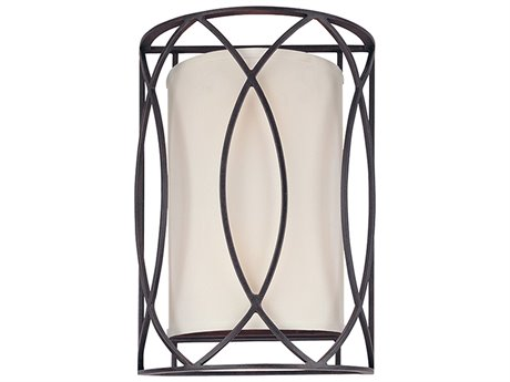Troy Lighting Sausalito Deep Bronze Two-Light 10'' Wide Wall Sconce