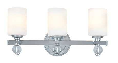 Troy Lighting Bentley Polish Chrome Three-Light Vanity Light