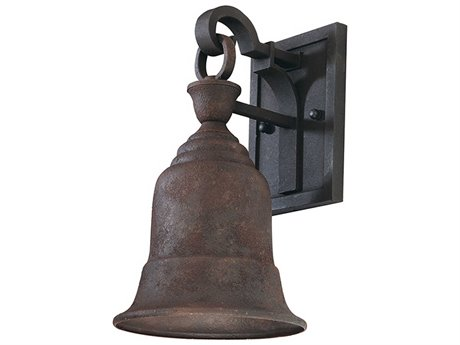 Troy Lighting Liberty Centennial Rust 7'' Wide Outdoor Wall Light