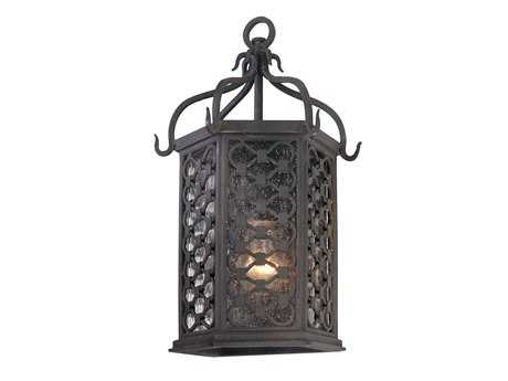 Troy Lighting Los Olivos Old Iron Outdoor Wall Light