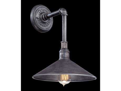 Troy Lighting Toledo Old Silver Outdoor Wall Light