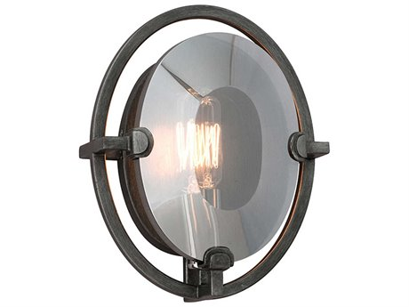 Troy Lighting Prism Graphite 7'' Wide Wall Sconce