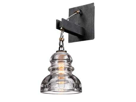 Troy Lighting Menlo Park Old Silver Wall Sconce
