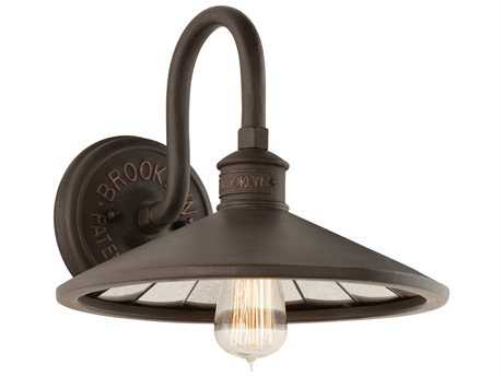 Troy Lighting Brooklyn Bronze Wall Sconce