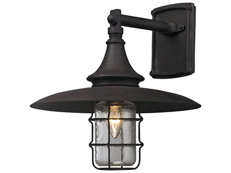Troy Lighting Allegany Centennial Rust 13'' Wide Outdoor Wall Light