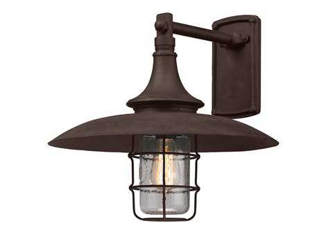 Troy Lighting Allegany Centennial Rust Outdoor Wall Light