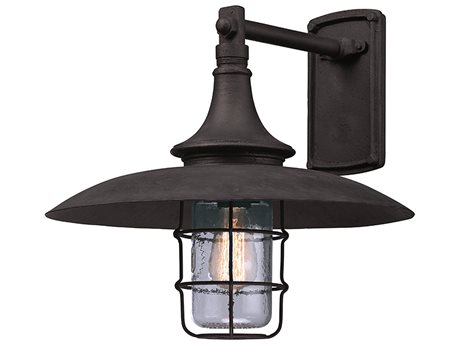 Troy Lighting Allegany Centennial Rust 16'' Wide Outdoor Wall Light