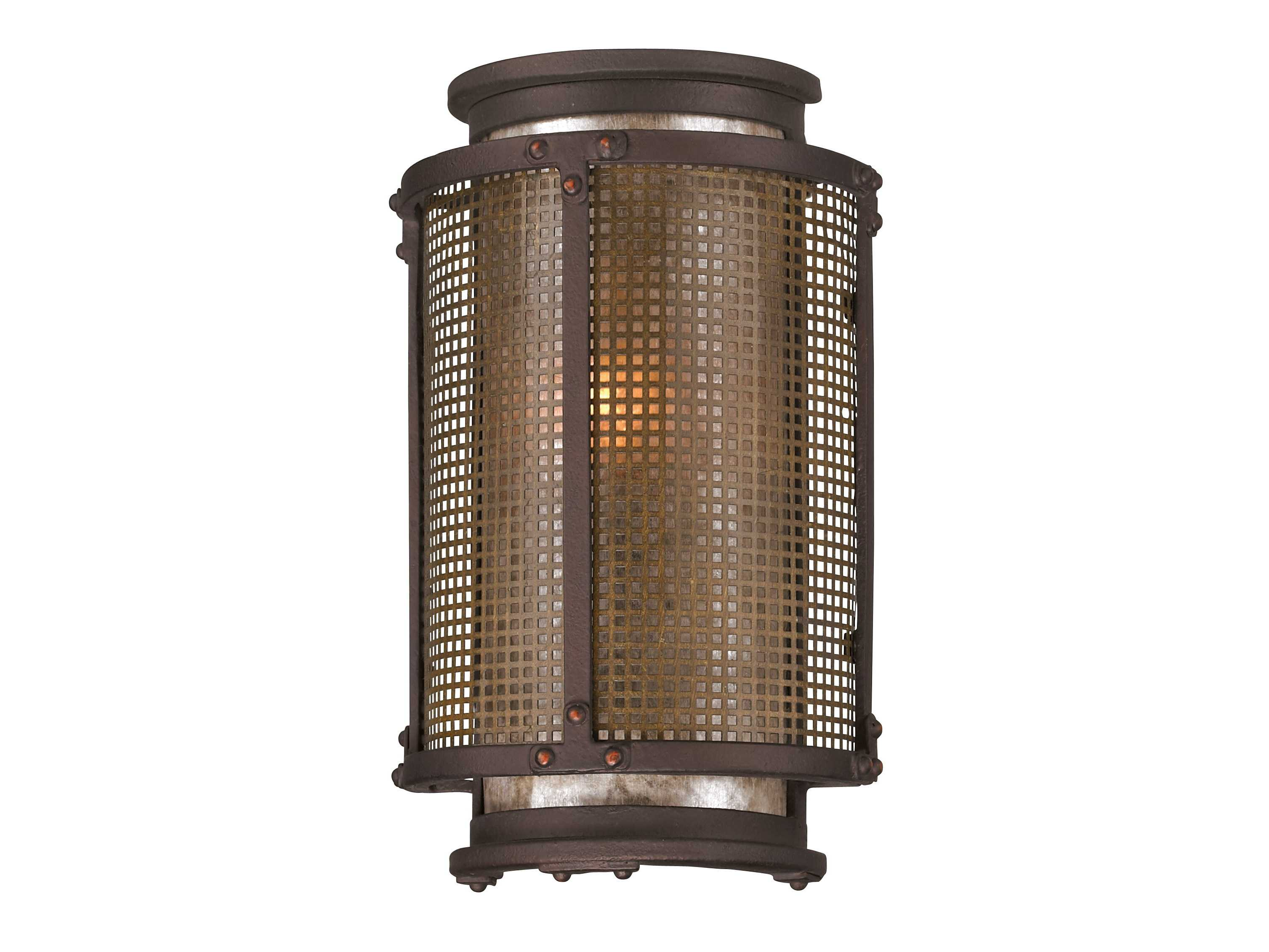 troy lighting copper mountain centennial rust outdoor wall. Black Bedroom Furniture Sets. Home Design Ideas