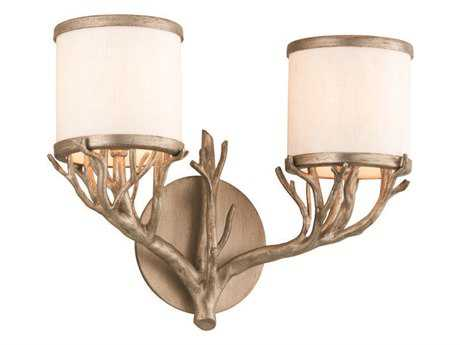 Troy Lighting Whitman Vienna Bronze Two-Light Vanity Light