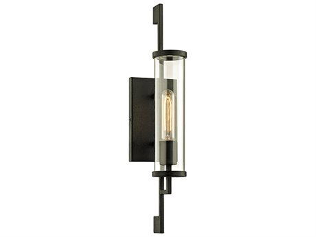 Troy Lighting Park Slope Forged Iron 5'' Wide Outdoor Wall Light