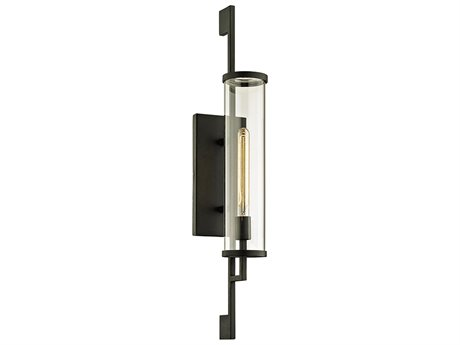 Troy Lighting Park Slope Forged Iron 6'' Wide Outdoor Wall Light