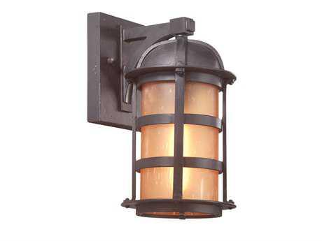 Troy Lighting Aspen Natural Bronze Outdoor Wall Light