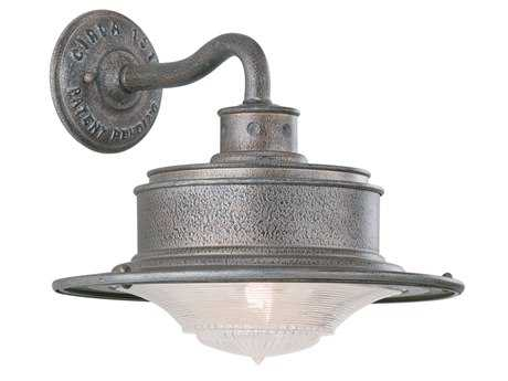 Troy Lighting South Street Old Galvanize Outdoor Wall Light