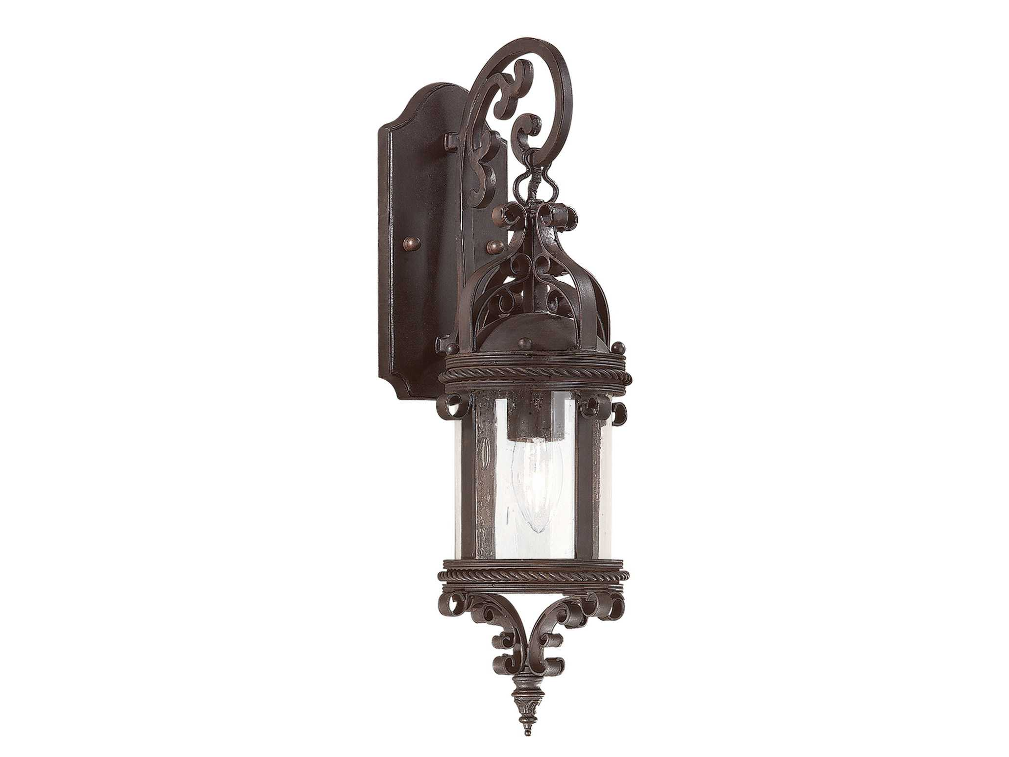 Troy Lighting Pamplona Old Bronze Outdoor Wall Light TLBCD9121OBZ
