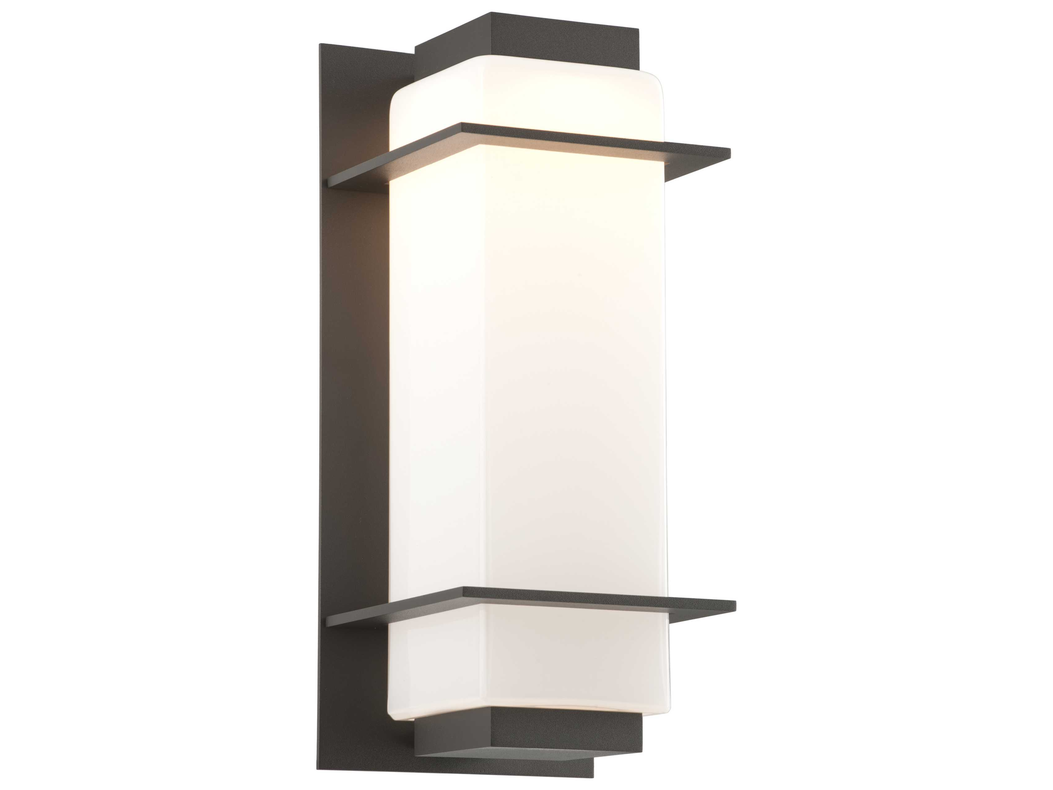Large Led Wall Lights : Troy Lighting Paradox Bronze Large LED Outdoor Wall Light TLBL4603BZ