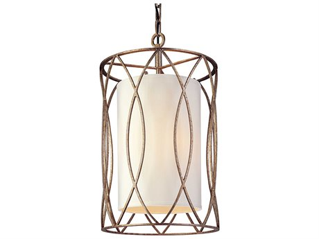 Troy Lighting Sausalito Silver Gold Three-Light 13'' Wide Pendant Light